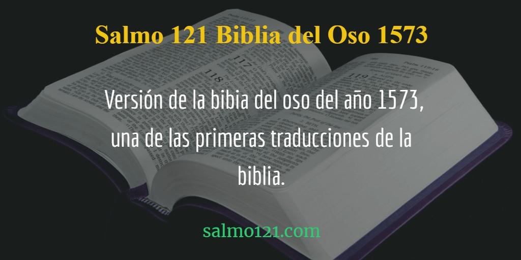 oracion 121 biblia del oso