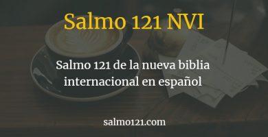 oracion 121 nvi