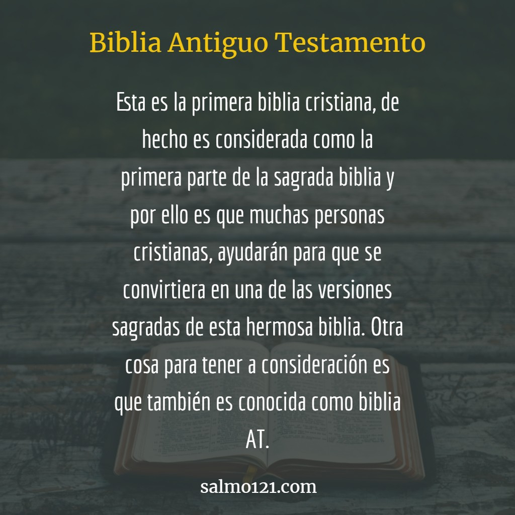 biblia antiguo testamento