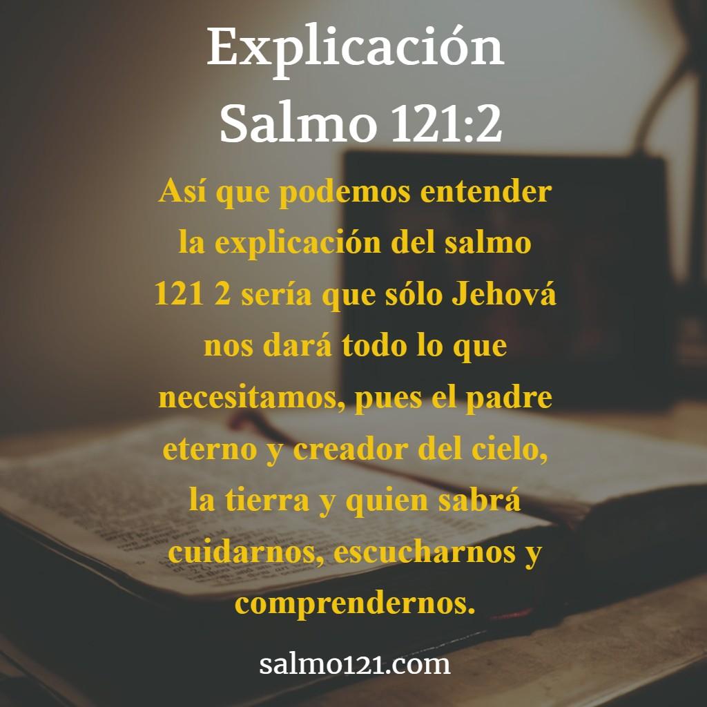 explicacion del salmo 121 2