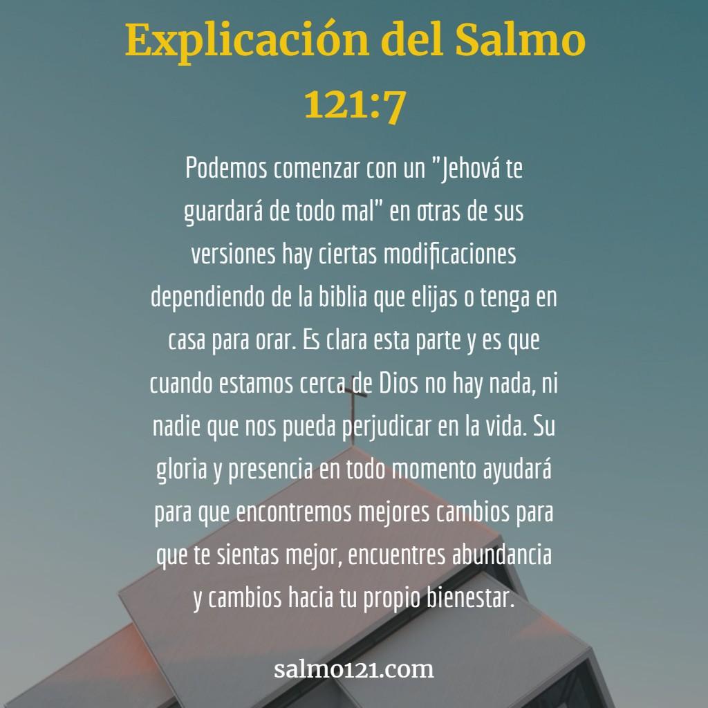 explicacion del salmo 121 7