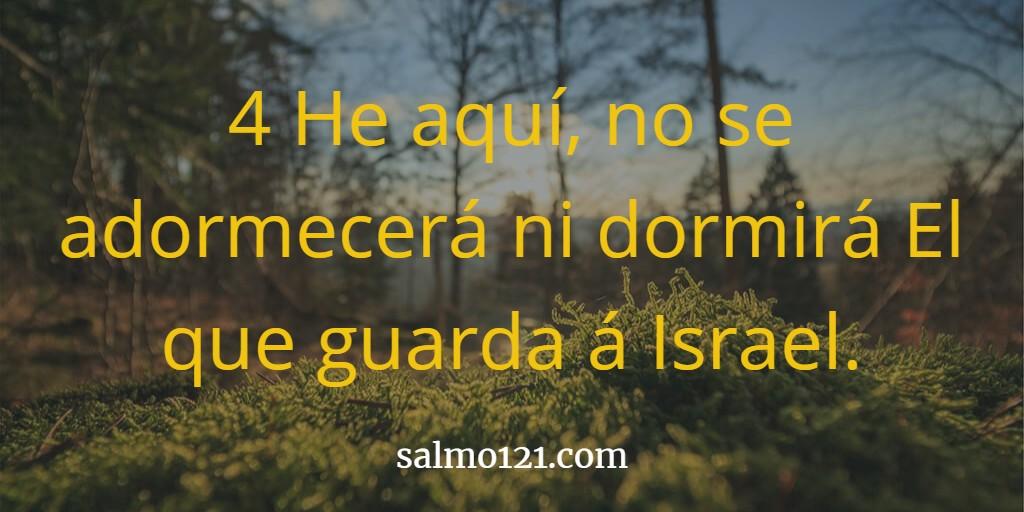 imagen del salmo 121 4