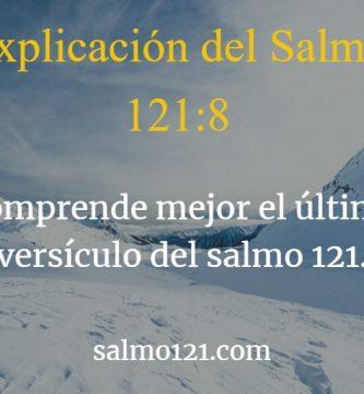 salmo 121 8