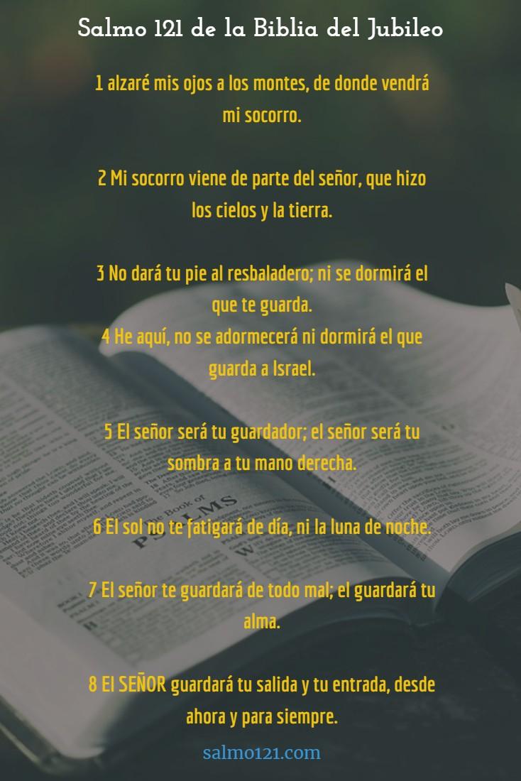 salmo 121 biblia del jubileo