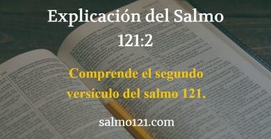 salmo 121 versiculo 2