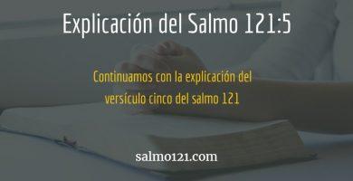 salmo 121 versiculo 5