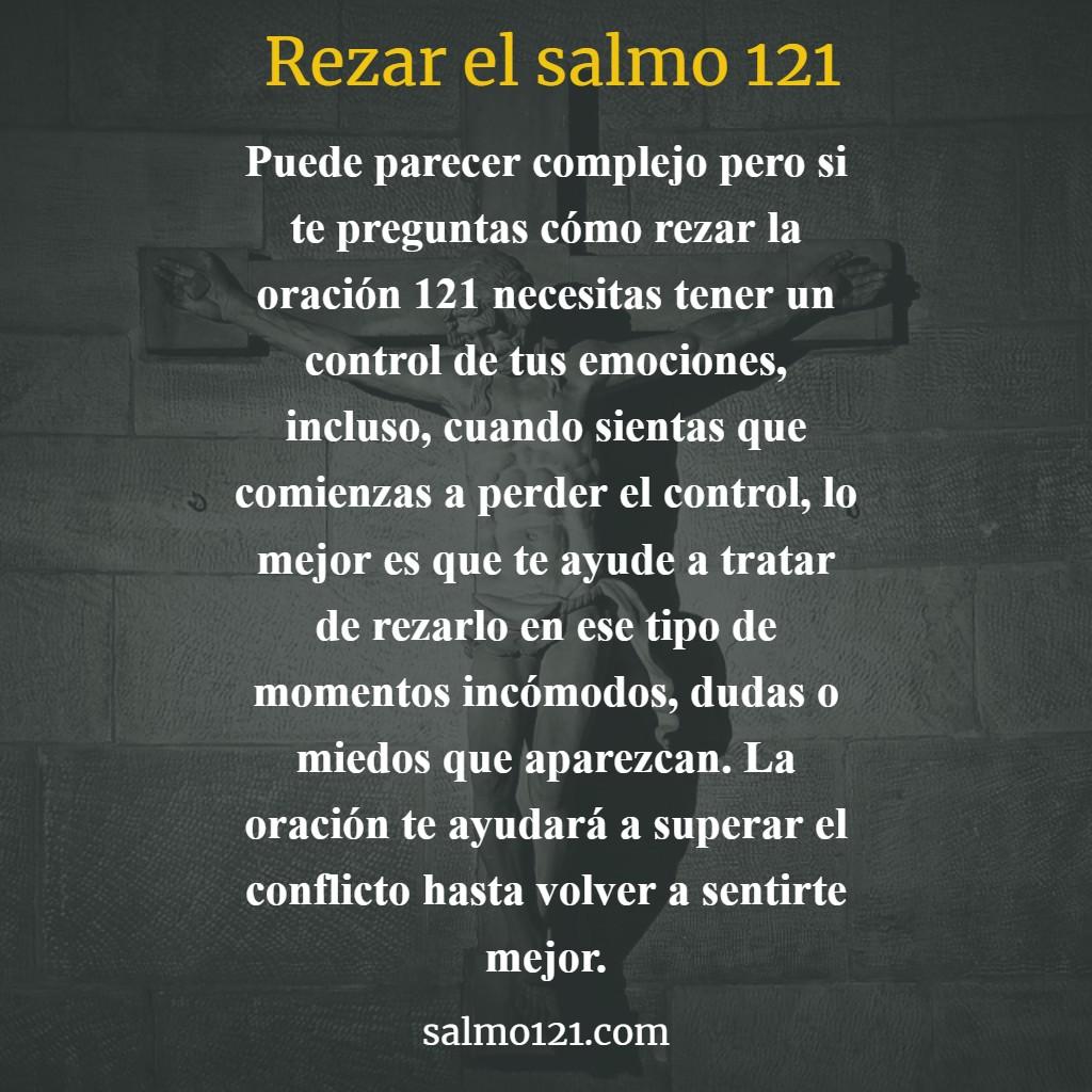 como rezar el salmo 121
