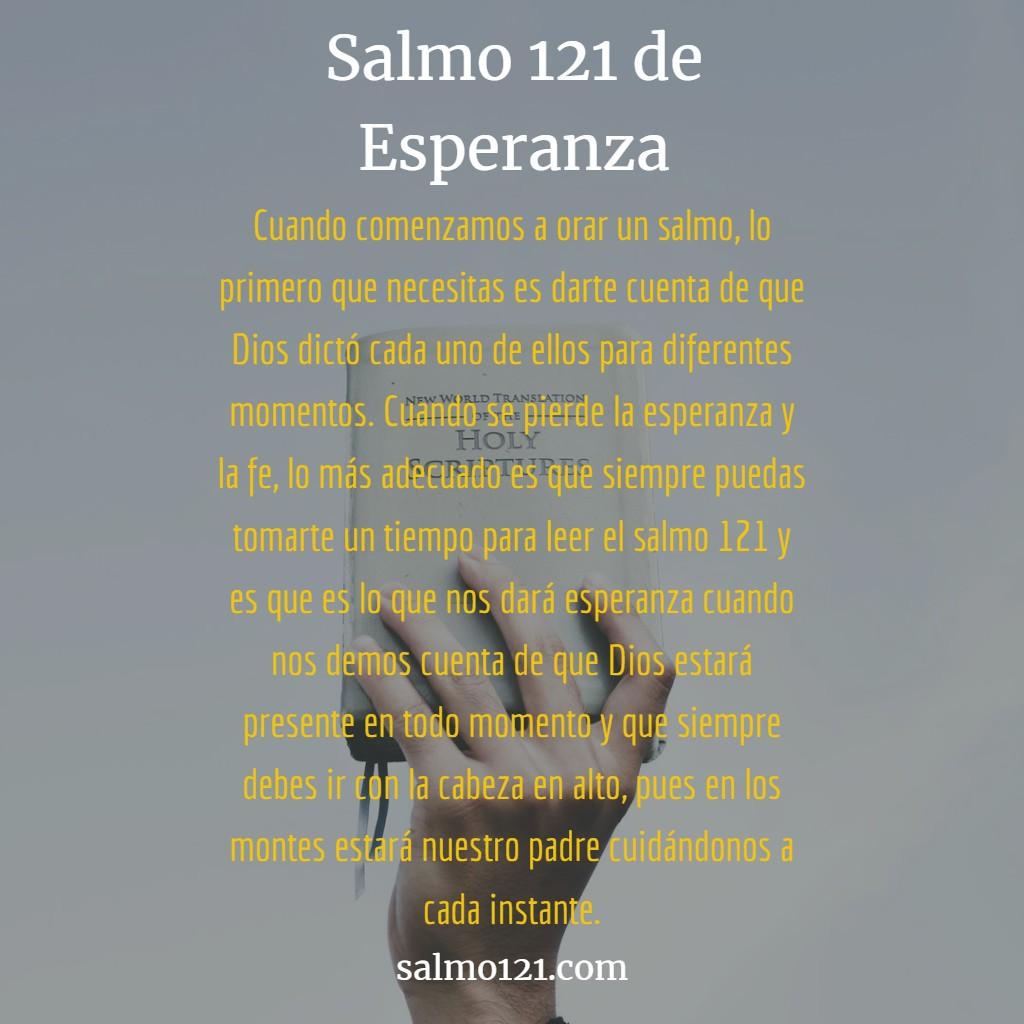 salmo de esperanza