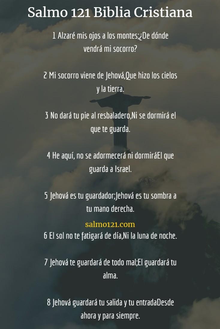 salmo 121 biblia cristiana
