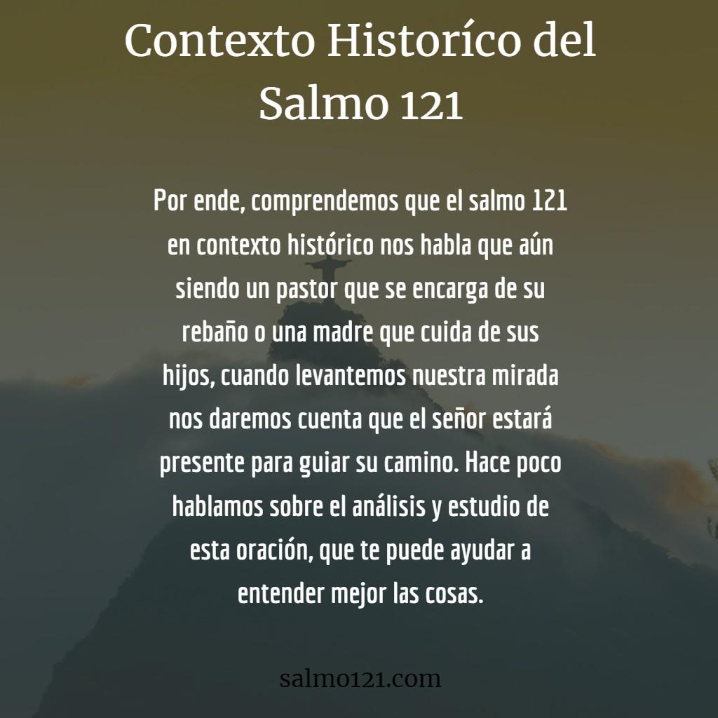 salmo 121 contexto histórico
