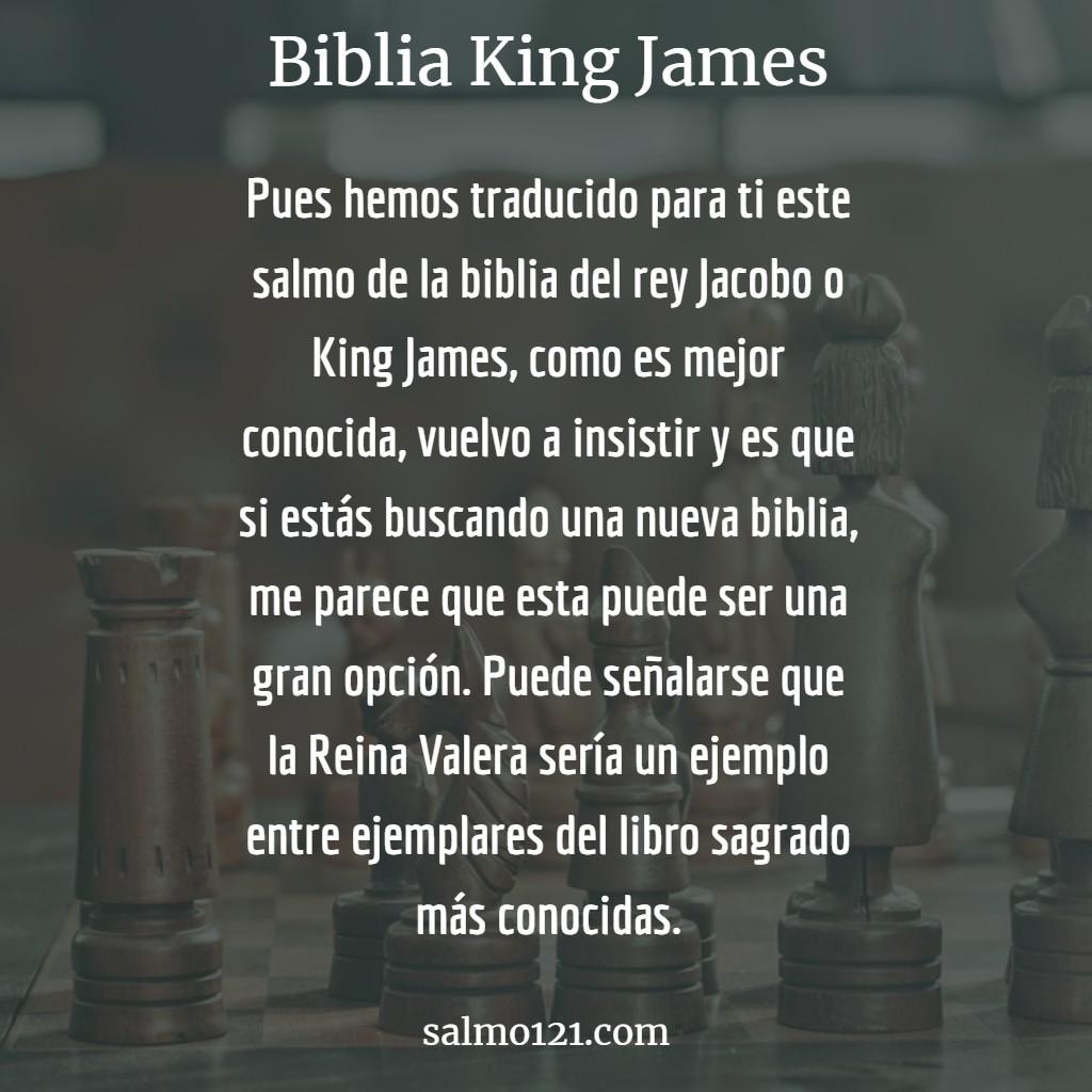 rezar biblia king james