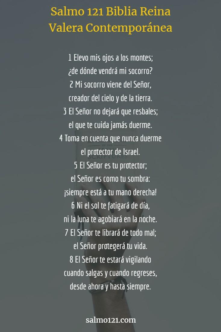 salmo 121 reina valera contemporanéa