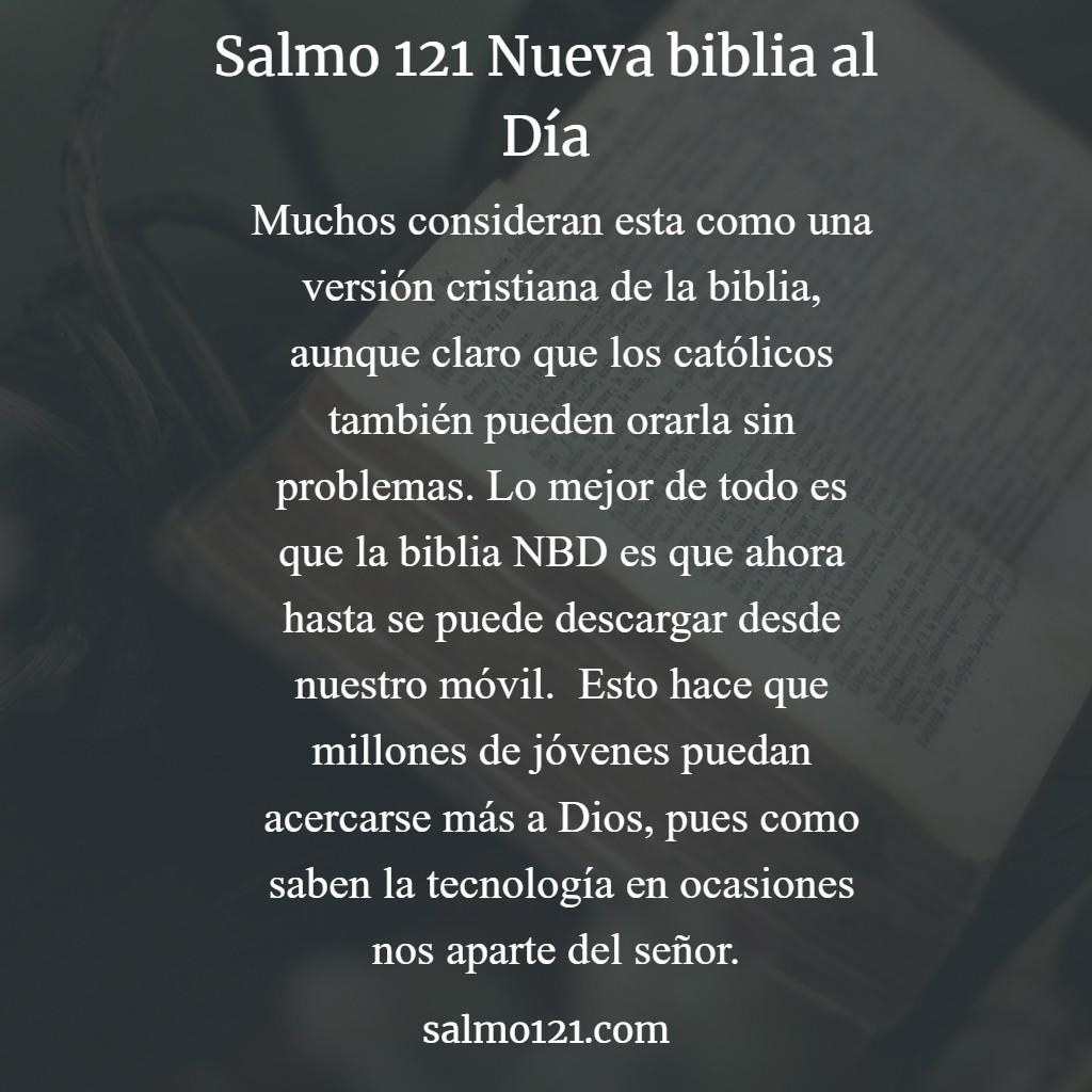 salmo 121 de la nbd