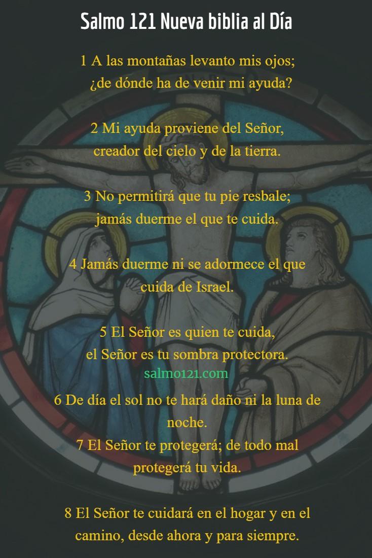 salmo 121 nueva biblia al día